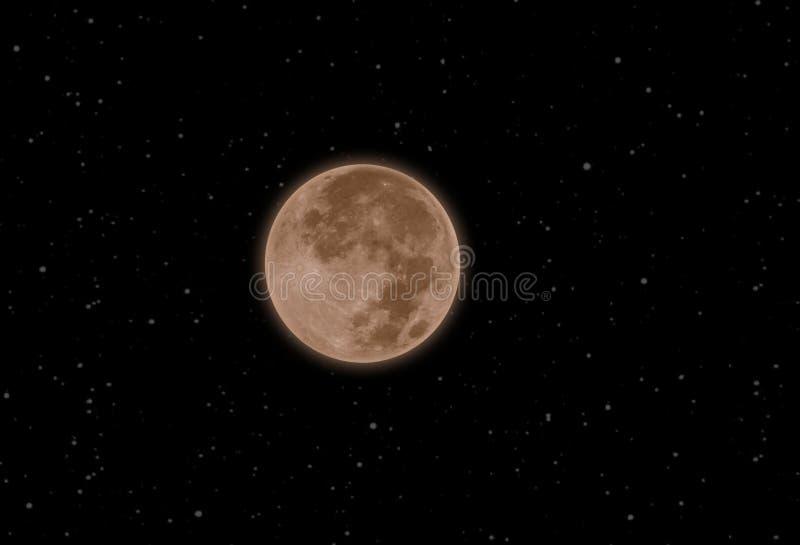 Pleine lune illustration libre de droits