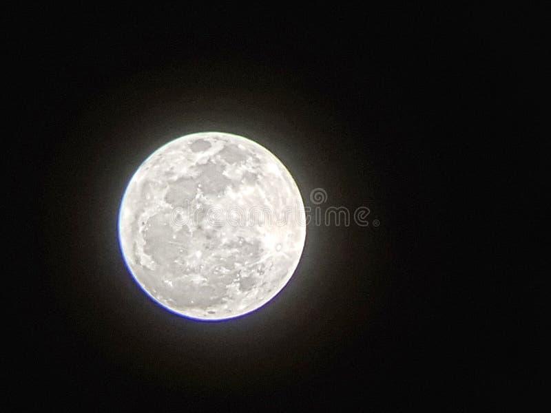 Pleine lune photo stock