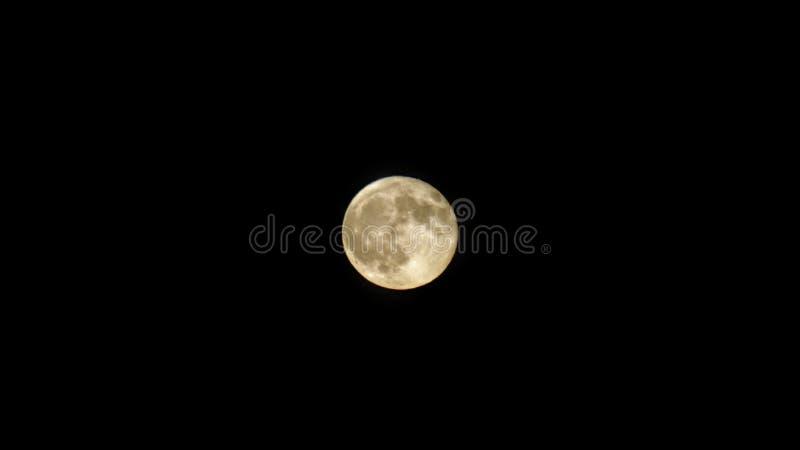 Pleine lune avant une éclipse images libres de droits