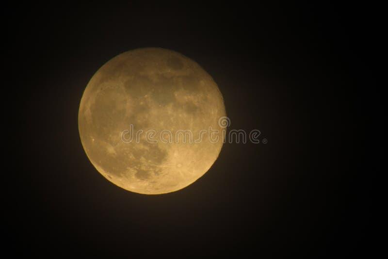 Pleine lune 2019 images libres de droits