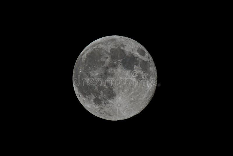 Pleine lune superbe images libres de droits