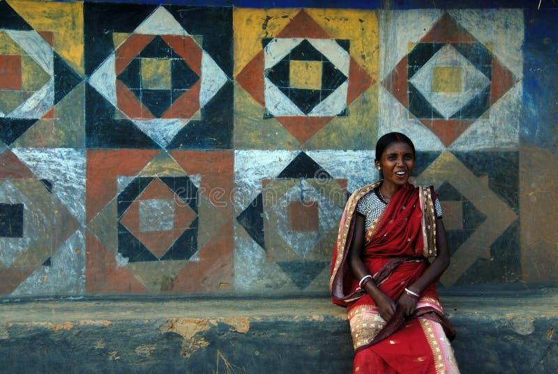 plemienna ind kobieta zdjęcie stock