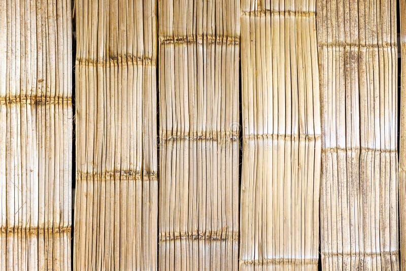 plemiennego stylowego bambusa ścienny i podłogowy tekstury tło zdjęcia stock