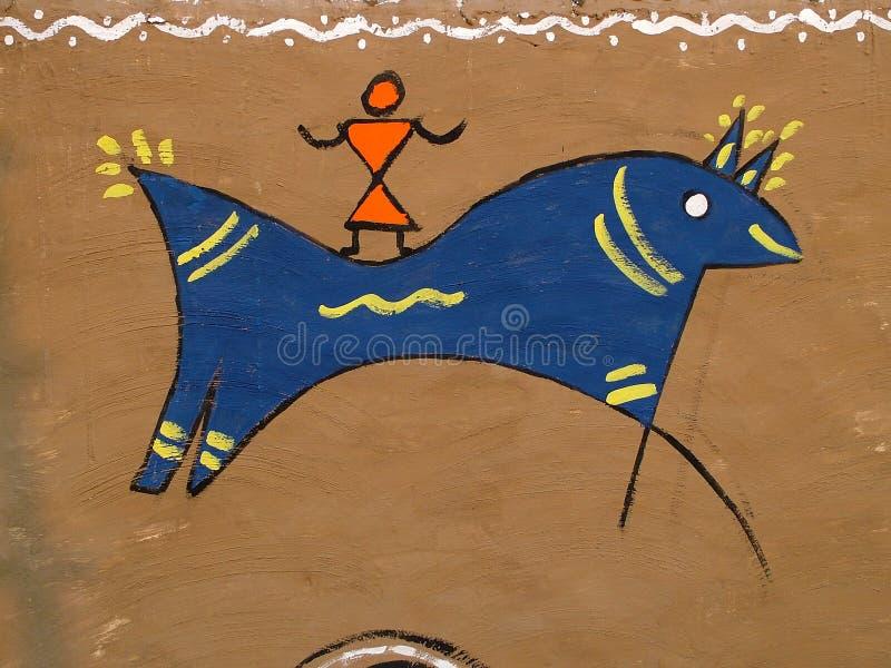 plemienny sztuka jeździec koński zdjęcia royalty free