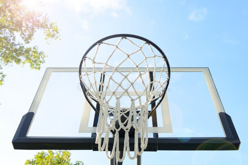 Plenerowa koszykówka obraz royalty free