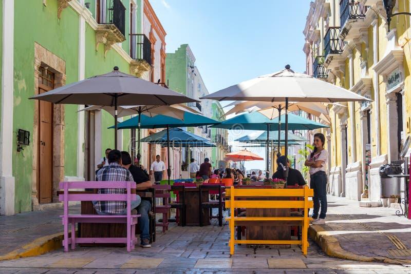 Plenerowy Łomotać w Campeche, Meksyk zdjęcie royalty free