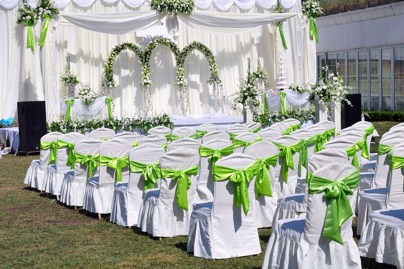 plenerowy ślub zdjęcia stock