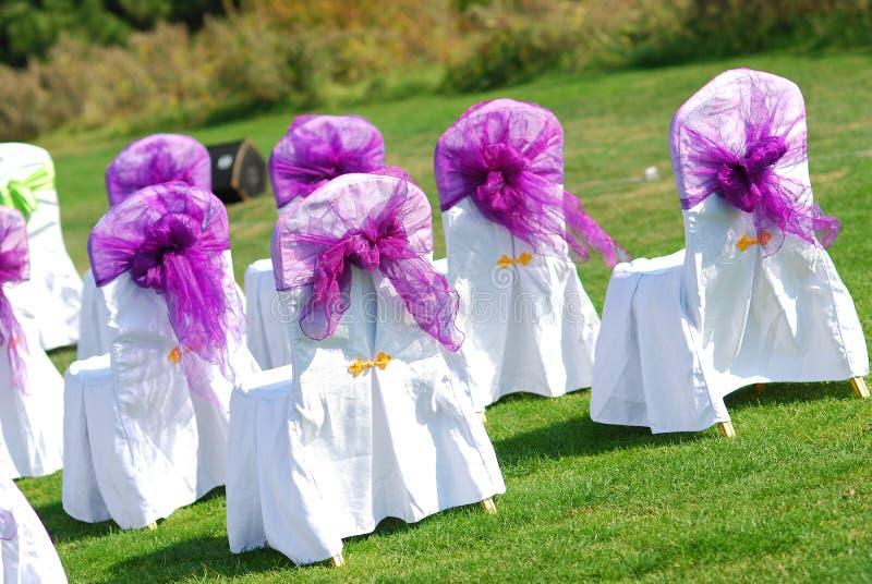 plenerowy ślub zdjęcie stock