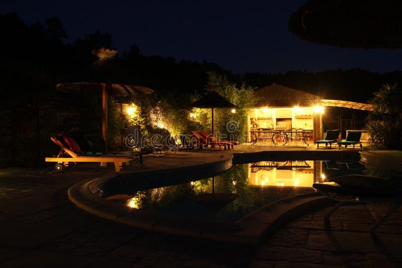 plenerowy basen zdjęcie royalty free