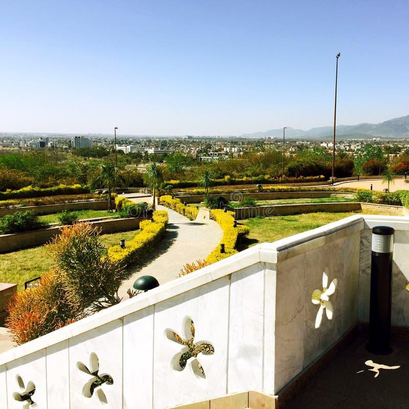 Plenerowy widok w parku zdjęcie royalty free