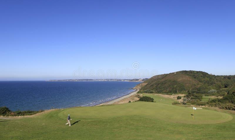 Pleneuf Val安德烈高尔夫球挑战的保罗Maddy 2013年 库存图片