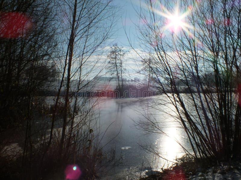 Pleno invierno Markelo fotos de archivo libres de regalías
