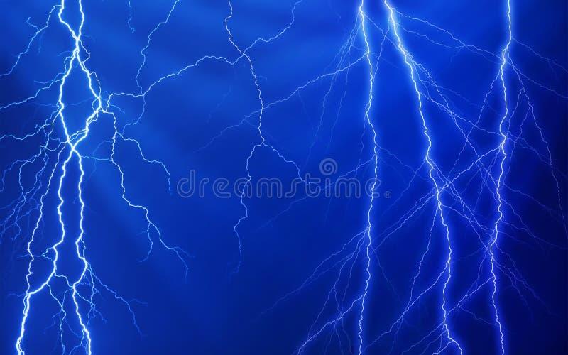 Download Plenty of lightnings stock image. Image of black, ethereal - 16637363