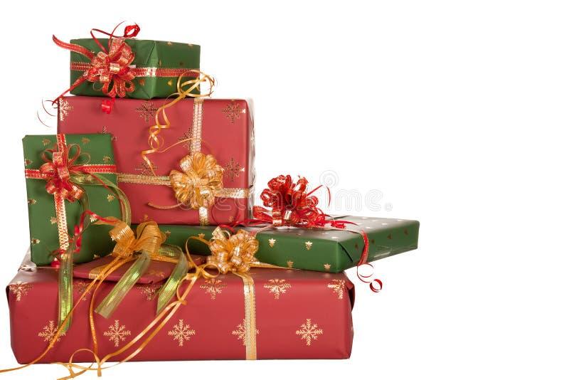 Plenty of presents stock photo