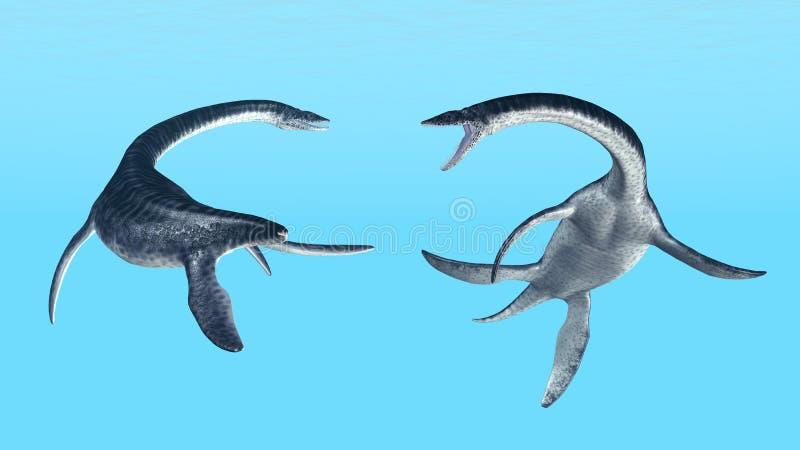 Download Plesiosaurus stock illustration. Illustration of huge - 31241431