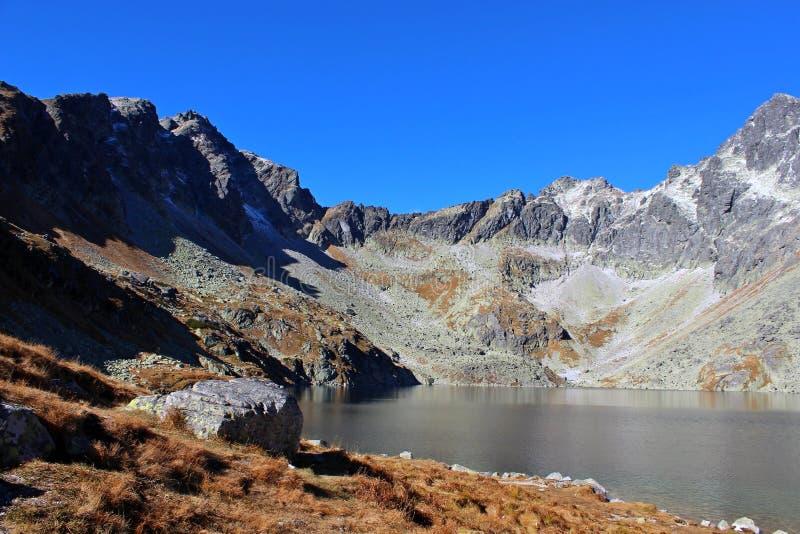 Pleso di Hincovo, alto Tatras, Slovacchia immagini stock