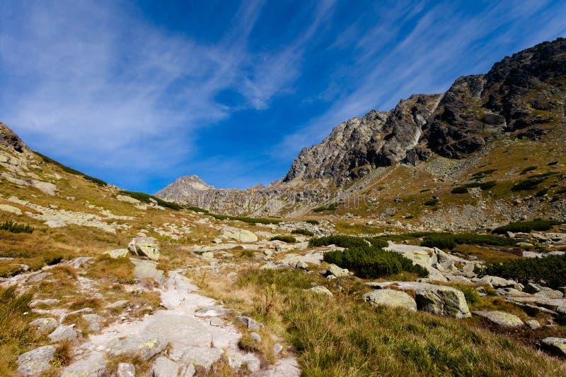 Pleso eslovaco Nad Skokom Tatra fotos de archivo
