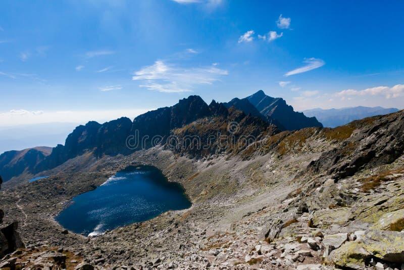 Pleso eslovaco Tatra de Vysne Wahlenbergovo fotografía de archivo