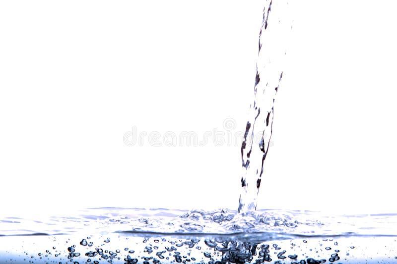 Pleuvoir à torrents de l'eau photographie stock