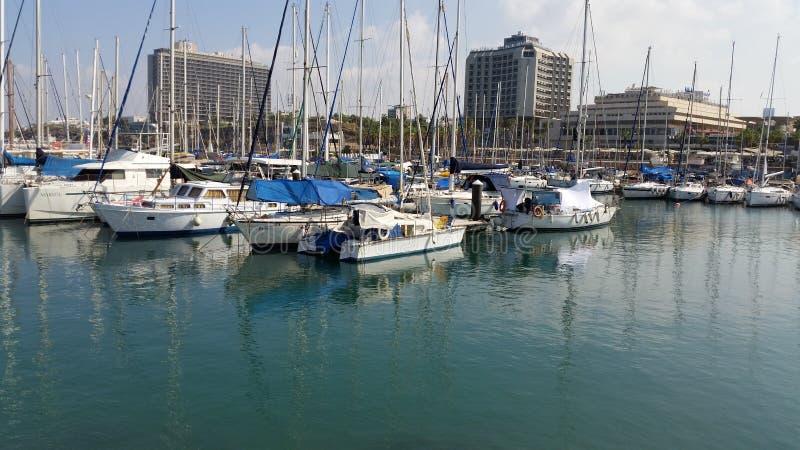 Plezierboot Zeilboot royalty-vrije stock afbeeldingen