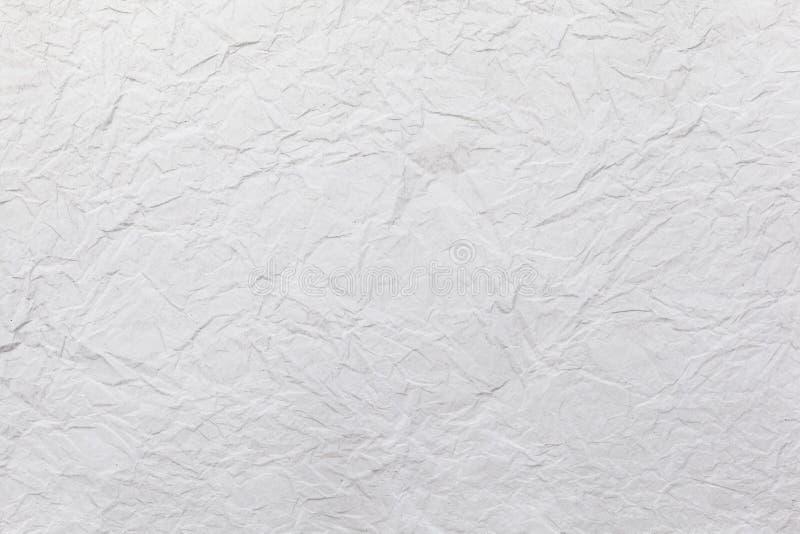 Pliegue del Libro Blanco con la estructura foto de archivo libre de regalías
