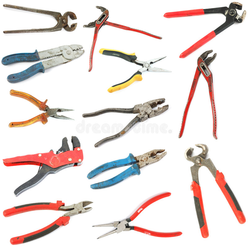 Free Pliers Stock Photography - 6398242