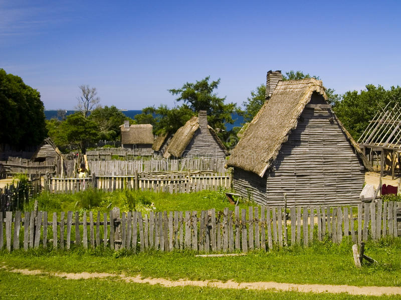 Download Plimoth Plantation stock image. Image of colony, cultural - 10185753