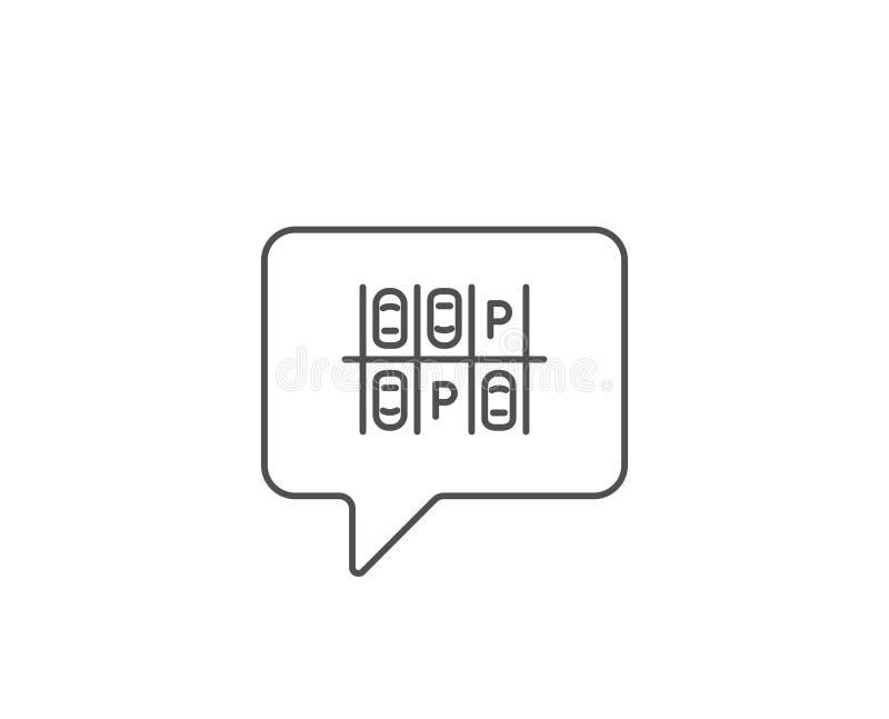 Plinje symbol det visade bilbegreppet har den pengar betalade parkteckenjobbanvisningen dig som ?r din vektor stock illustrationer