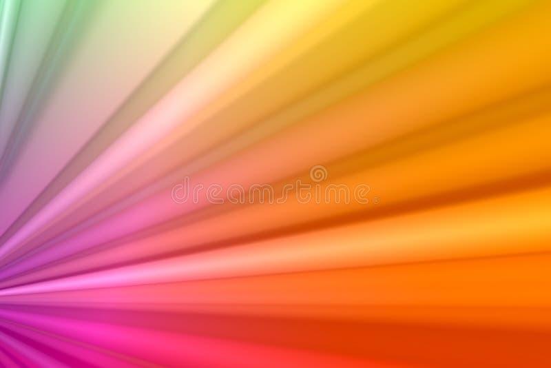 Plisados del arco iris libre illustration