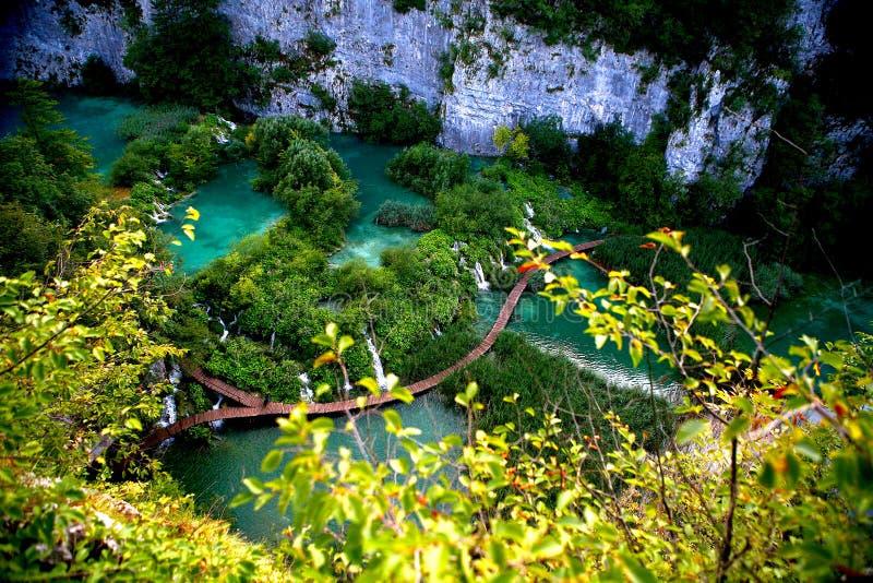 Plitvica.National park obraz stock
