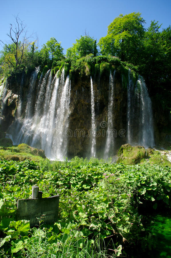 Plitvice湖 库存图片