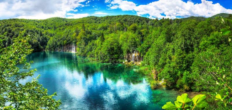 Plitvice湖 免版税库存图片
