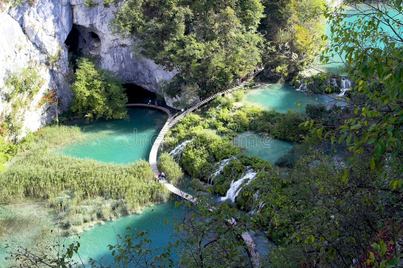 Download Plitvice stock photo. Image of cataract, nature, green - 2856760