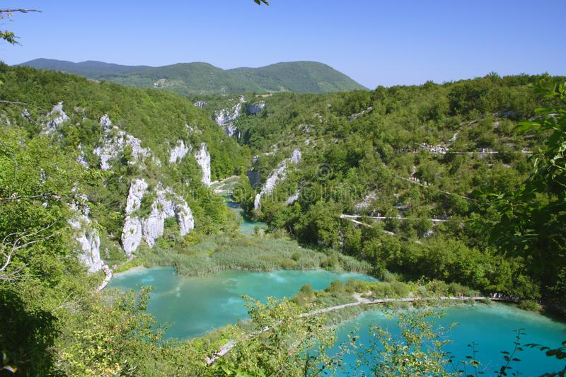 Download Plitvice stock photo. Image of landscapes, paradise, mountain - 6819000