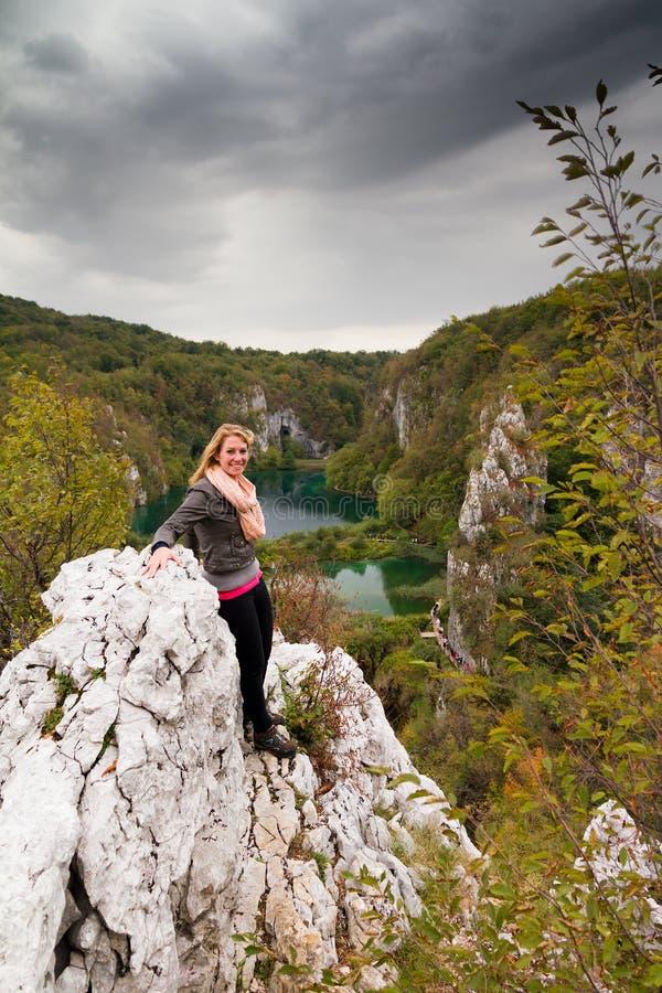 Plitvice adventure royalty free stock image