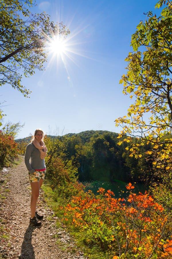 Plitvice autumn hiking