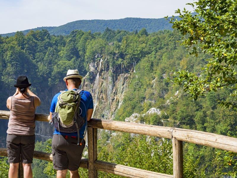 Plitvice Croatie photographie stock