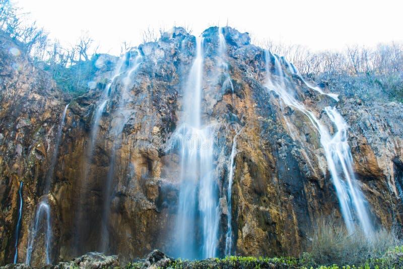 plitvice de stationnement national de lacs de la Croatie photographie stock libre de droits