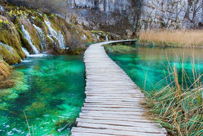 plitvice de stationnement national de lacs de la Croatie photo stock