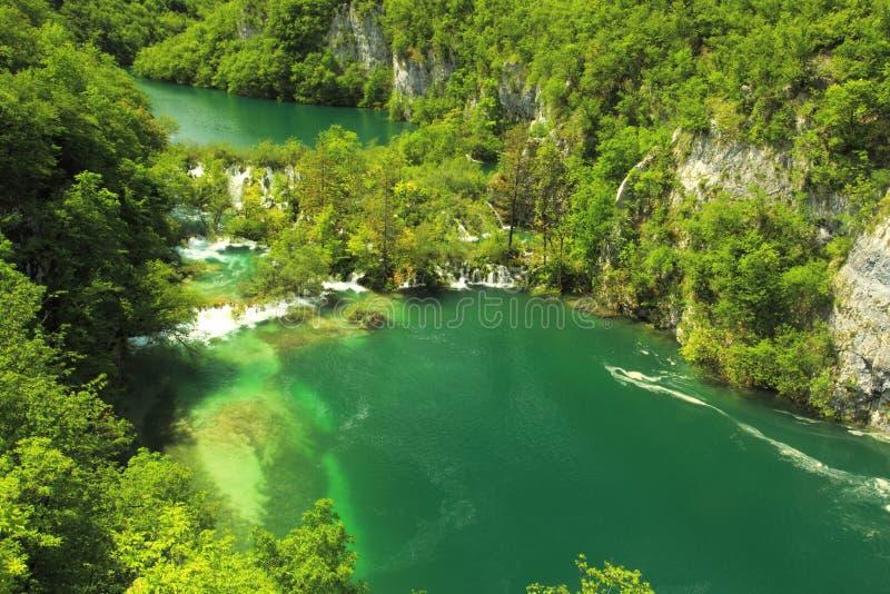 Plitvice jeziora fotografia stock