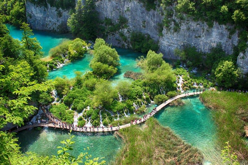 Plitvice jeziora zdjęcie royalty free