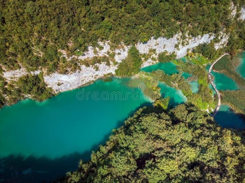 Plitvice jeziora Chorwacja obrazy stock