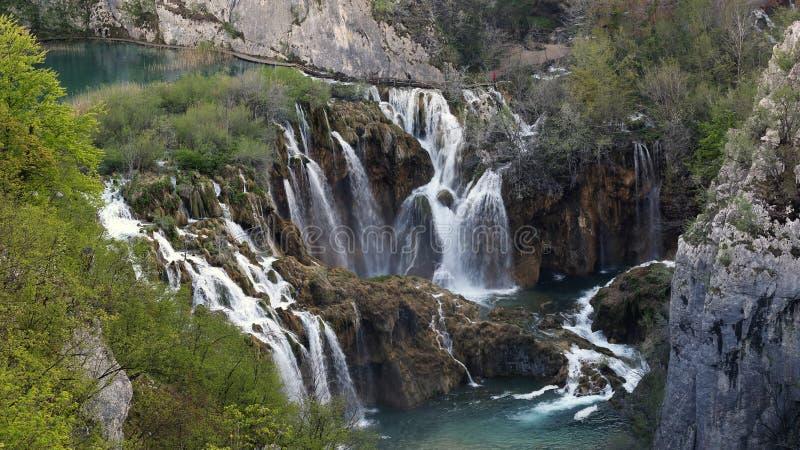 Plitvice jeziora, Chorwacja (Plitvicka jezera) fotografia stock