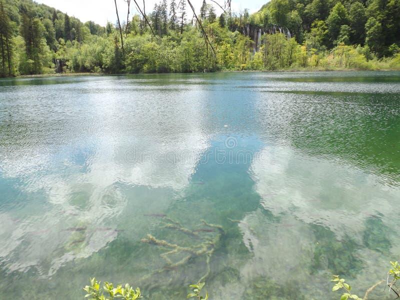 Plitvice jezioro zdjęcia royalty free