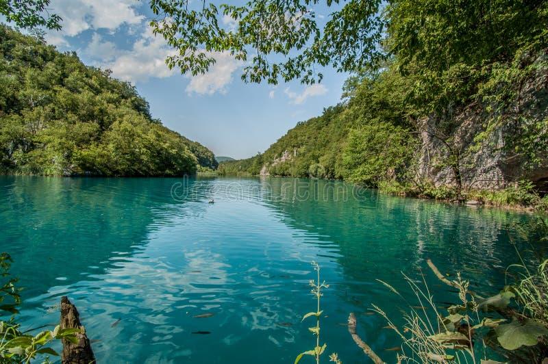 Plitvice Lakes, Croatia royalty free stock photos