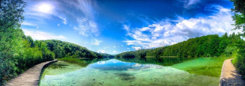 Plitvice lakes. Croatia´s national park stock image