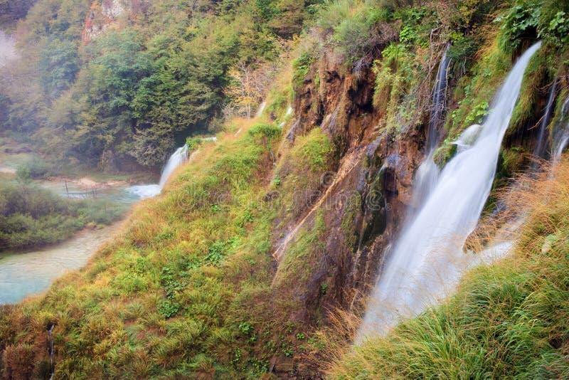 Plitvice Lakes Scenery stock photography