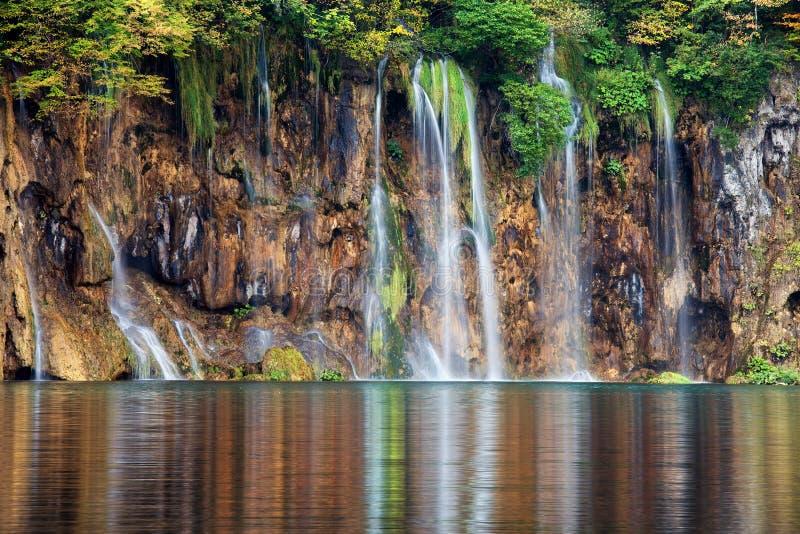 Plitvice Lakes Waterfalls royalty free stock photography