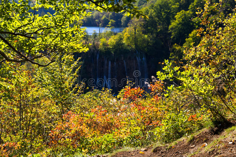Download Plitvice lookthrough stock image. Image of holiday, outdoor - 28939983