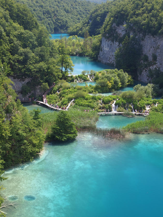 Plitvice National Park Editorial Photography